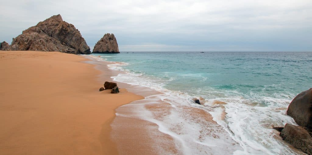 Divorce and Lovers Beach on the Pacific