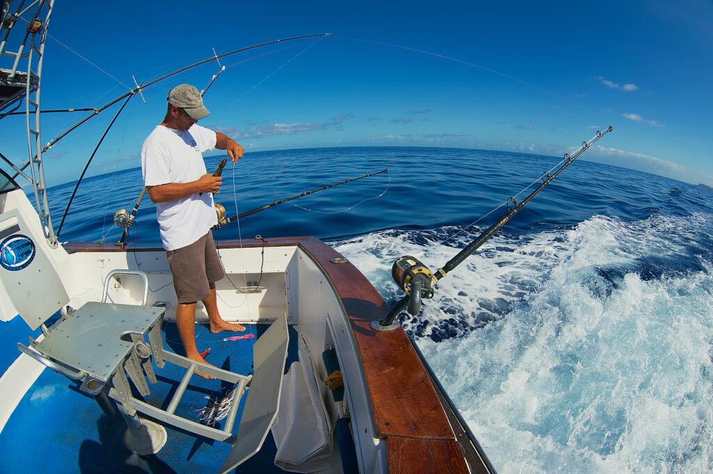 Fishing at Cabo San Lucas